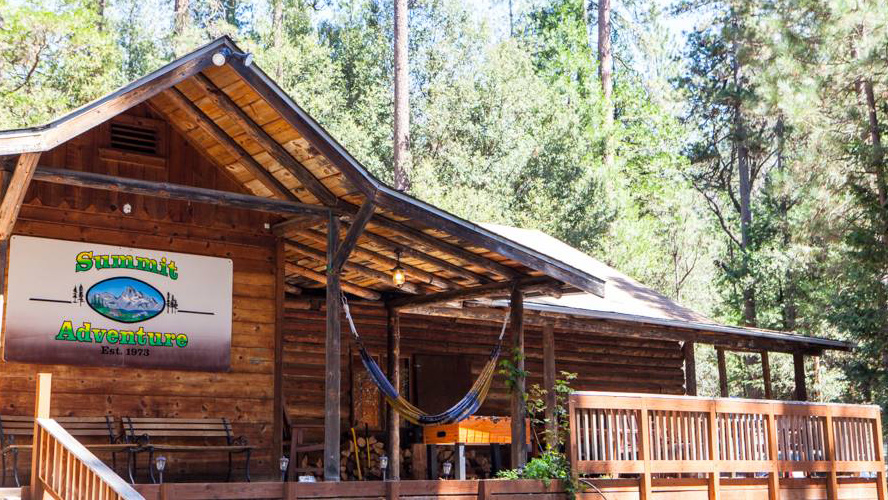 Summit Adventure Lodge Rental on Bass Lake CA