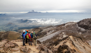 Ecuador Mountaineering Adventure