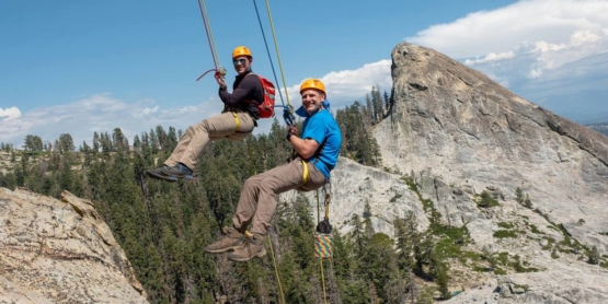 Summit Adventures in Fatherhood Course father-son father-daughter trip