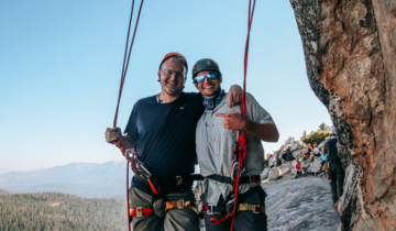 Summit Adventure Father and Son on Adventures in Fatherhood Course