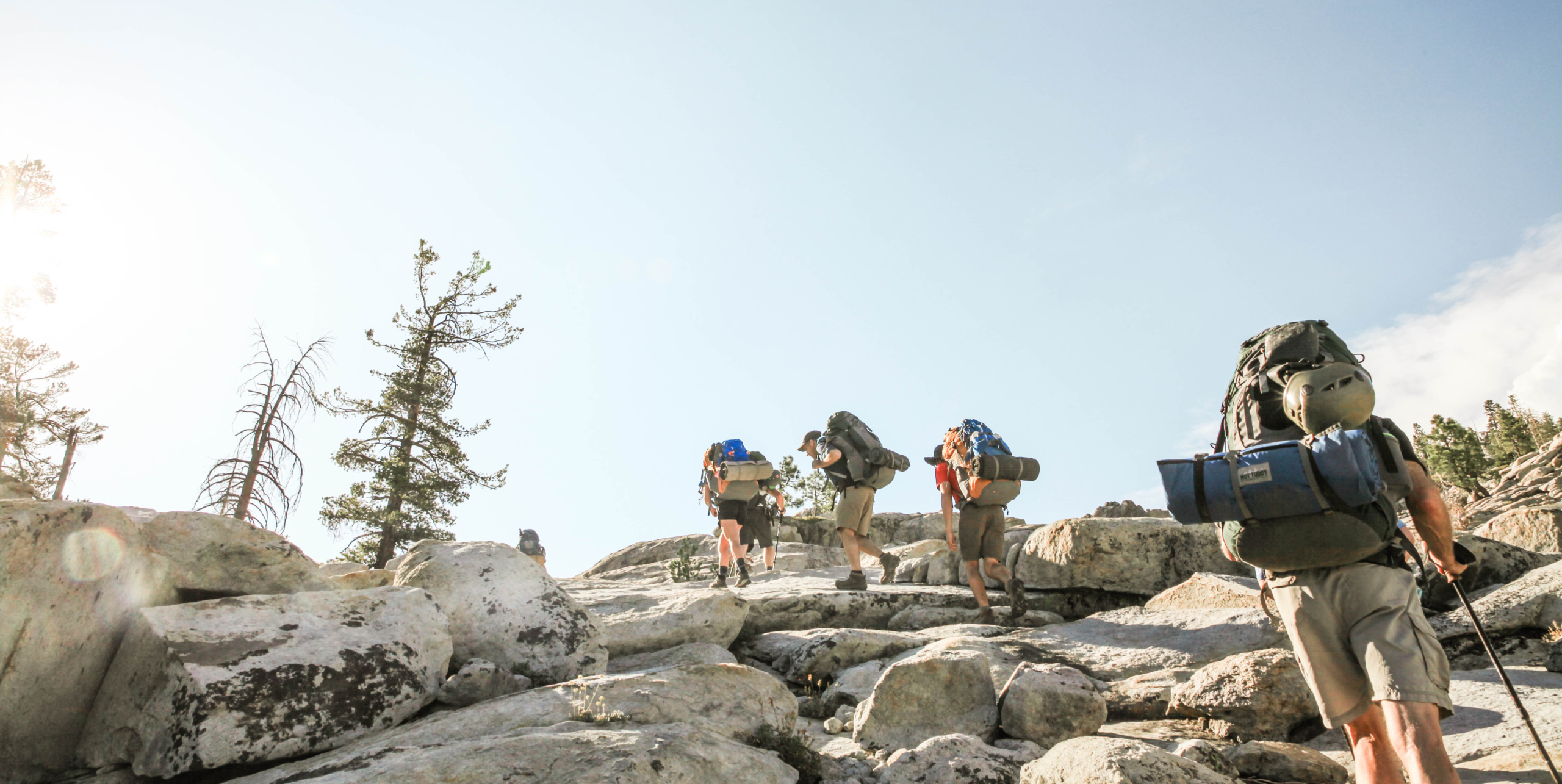 Summit Adventure Men's Life Renewal Backpacking Course