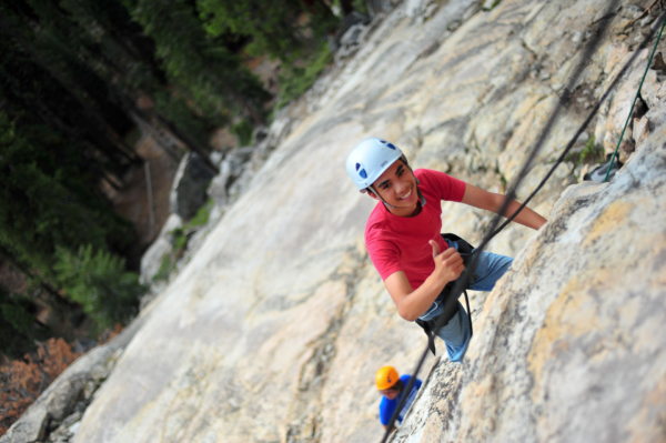Youth Climbing with Summit Adventure