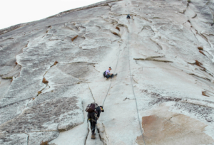 Summit Adventure students Hiking Half Dome