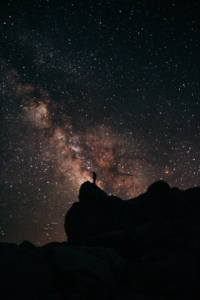 Summit Adventure Milky Way picture in the Ansel Adams Wilderness